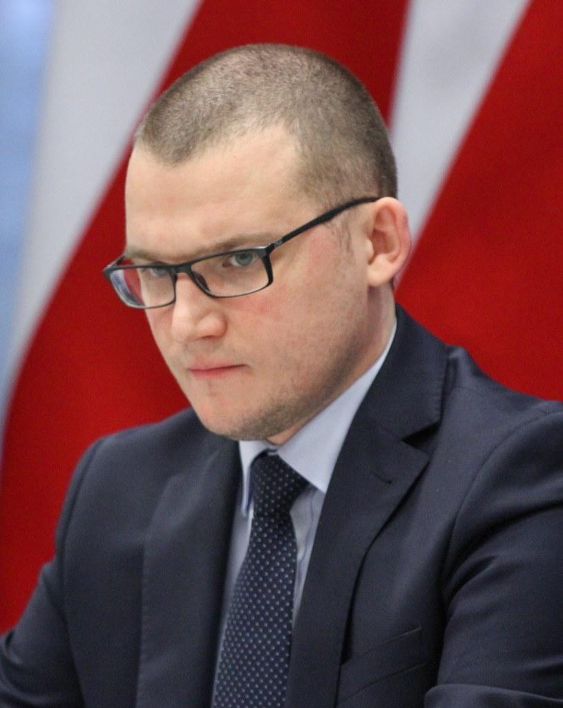 Pawel Szefernaker, sekretarz stanu w MSWiA /Robert Ostrowski /East News