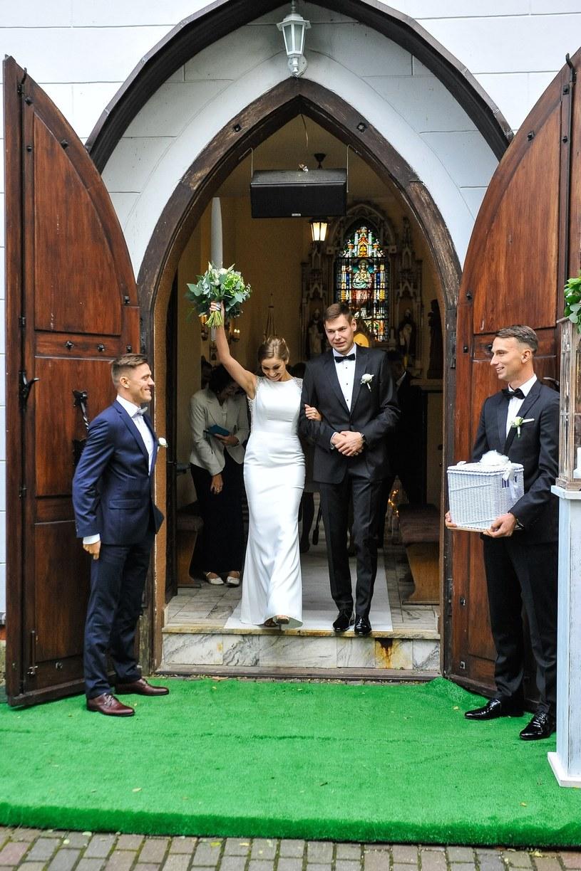 Paweł Wojciechowski z żoną /Piotr Lampkowski /East News