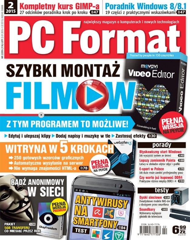 PC Format 02/2015 /materiały prasowe