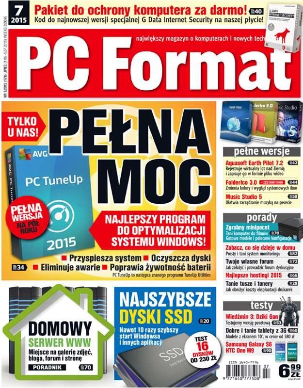 PC Format 07/2015 - w kioskach od 1 czerwca /materiały prasowe