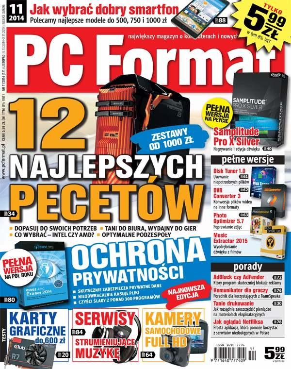 PC Format 11/2014 - w kioskach od 6. października /materiały prasowe