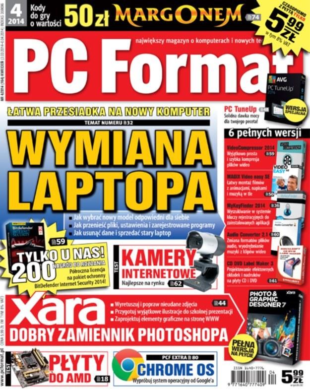 PC Format 4/2014 /materiały prasowe