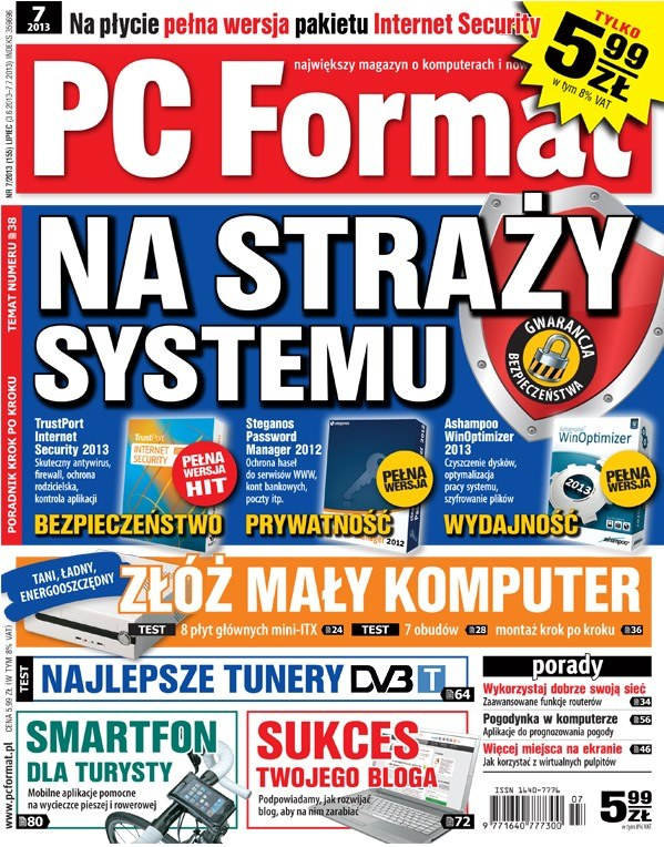 PC Format 7/2013 - w kioskach od 3 czerwca /PC Format