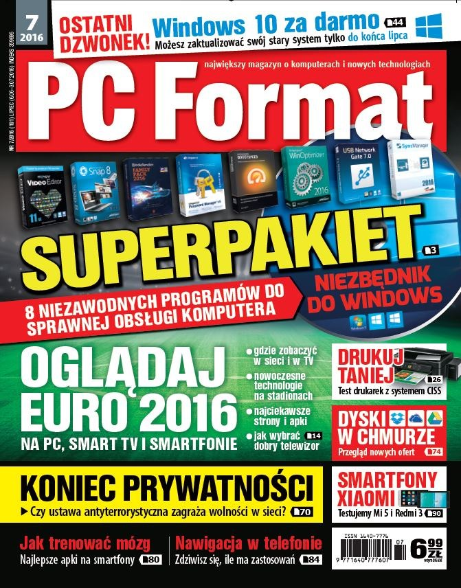 PC Format 7/2016 /PC Format