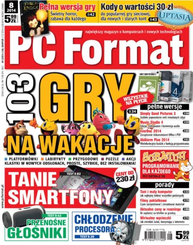PC Format 8/2014 - ogromna liczba darmowych gier na lato /PC Format