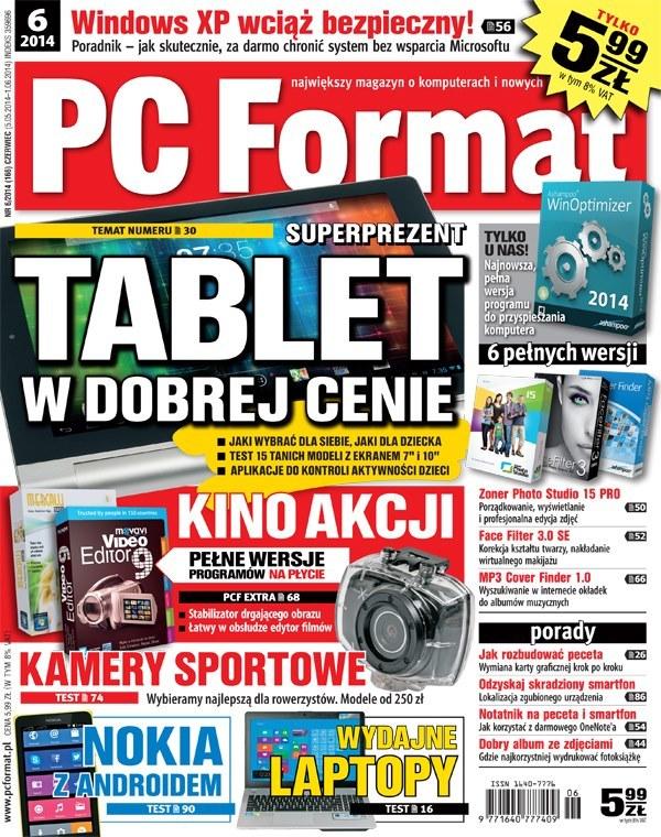 PC Format - numer 6/2014 /materiały prasowe