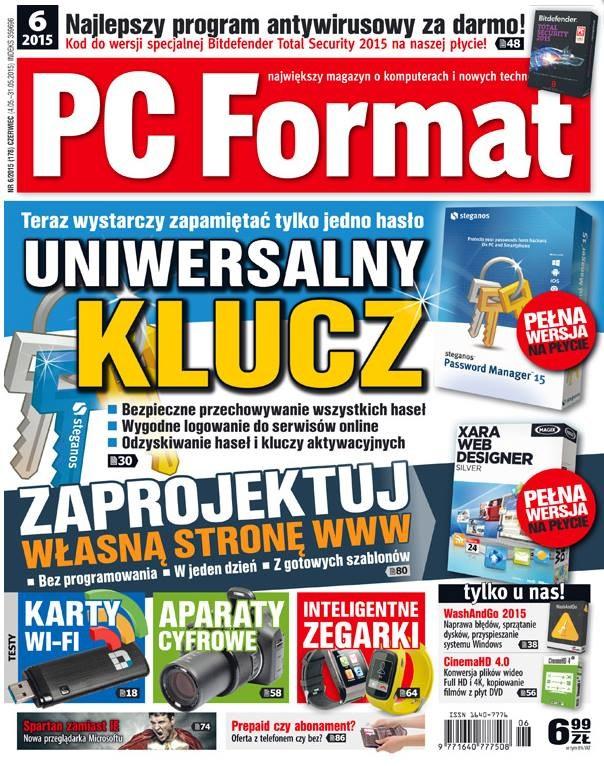 PC Fromat 6/2015 - w kioskach od 4 maja /materiały prasowe
