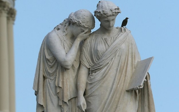 Peace Monument umiejscowiony przed Kapitolem Stanów Zjednoczonych /AFP