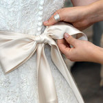 Pechowa suknia ślubna