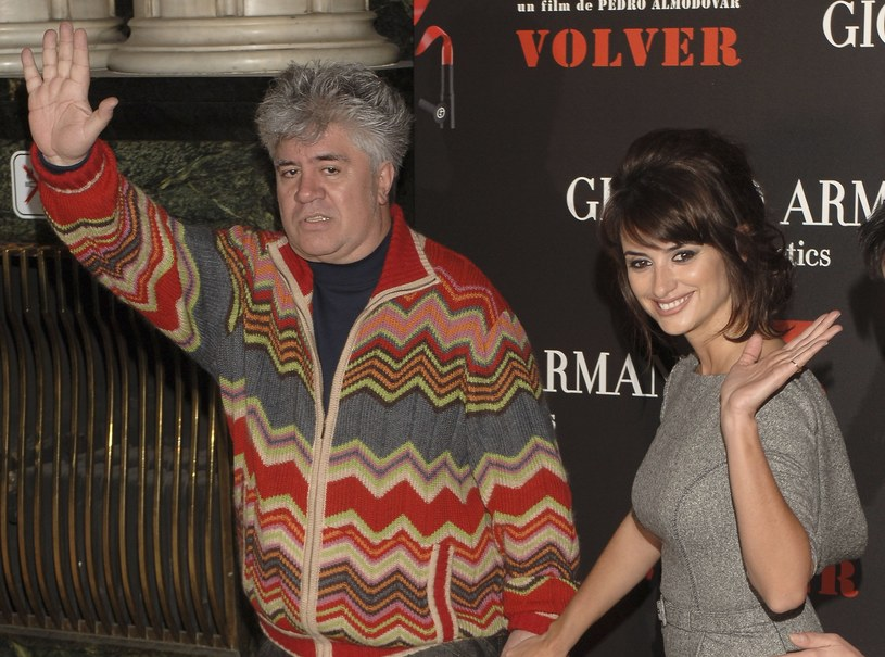 Pedro Almodovar i Penelope Cruz /Getty Images