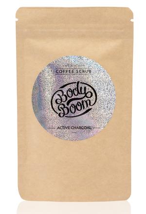 Peeling kawowy Magiczny Węgiel, z dodatkiem węgla aktywnego, cena ok. 25 zł/100g, www.bodyboom.pl /materiały prasowe