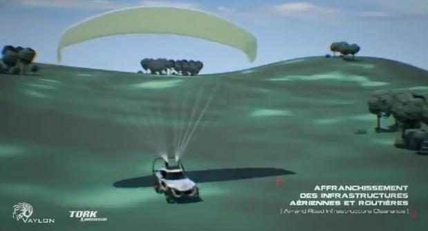 Pegaz będzie mógł latać z prędkością do 80 km/h na wysokości do 3000 metrów. /materiały prasowe