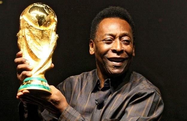 Pele - król futbolu /AFP