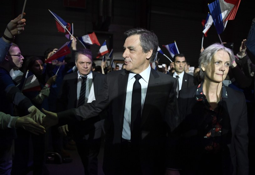 Penelope i Francois Fillion /AFP