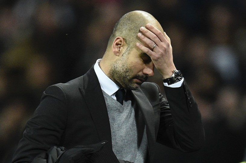 Pep Guardiola drżał o zdrowie swoich najbliższych /AFP