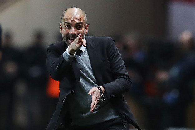 Pep Guardiola /AFP