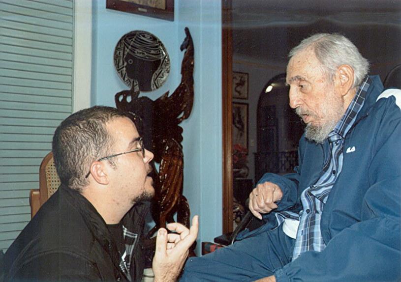 Perdomo Garcia i Fidel Castro /PAP/EPA