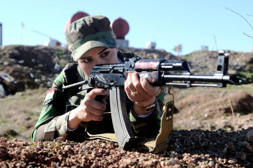 Peszmergowie to tradycyjna nazwa kurdyjskich bojowników walczących w partyzantce na terytorium Iraku /Getty Images