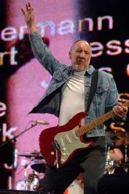 Pete Townshend (The Who) /AFP