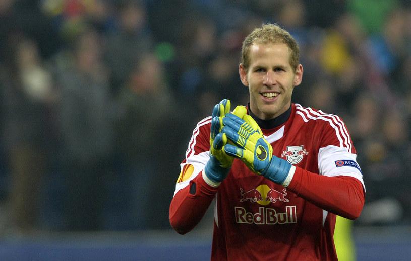 Peter Gulacsi, bramkarz Red Bull Salzburg /AFP