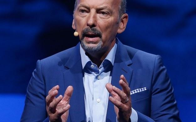 Peter Moore - fragment wystąpienia podczas targów E3 2015 /AFP