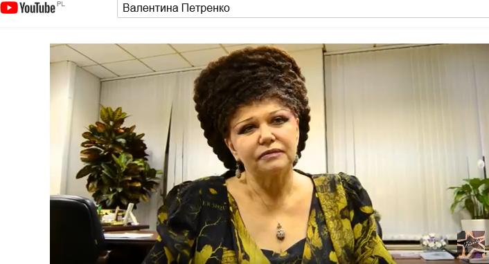 Petrenko Valentina Aleksandrovna. Senator,   zajmuje się sprawami społecznymi /YouTube /YouTube