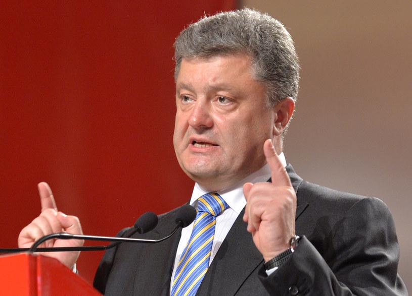 Petro Poroszenko spotka się z Bronisławem Komorowskim /AFP