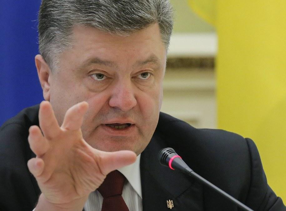 Petro Poroszenko //SERGEY DOLZHENKO /PAP/EPA