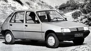 Peugeot 205 GRD - dużo litrów, mało kilogramów