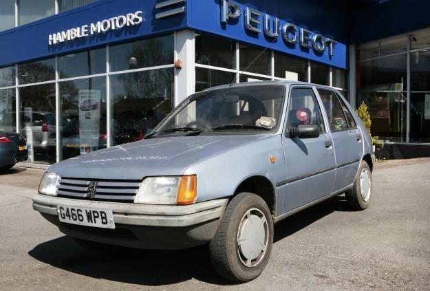 Peugeot 205, który przejechał ponad pół mln kilometrów /