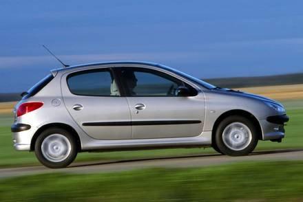 Peugeot 206 / Kliknij /INTERIA.PL