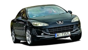 Peugeot 407 Coupe 3.0 HDi Sport - test