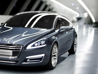Peugeot 508  /materiały prasowe