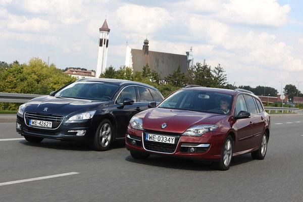 Peugeot 508 SW (2011-), Renault Laguna Grandtour III (2007-2014)