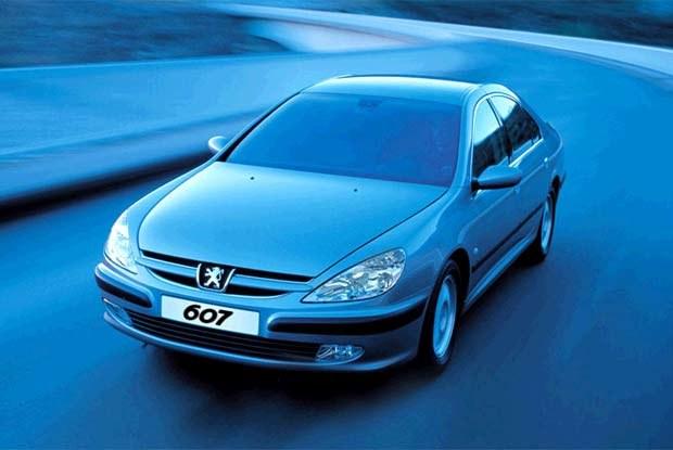 Peugeot 607 (kliknij) /INTERIA.PL