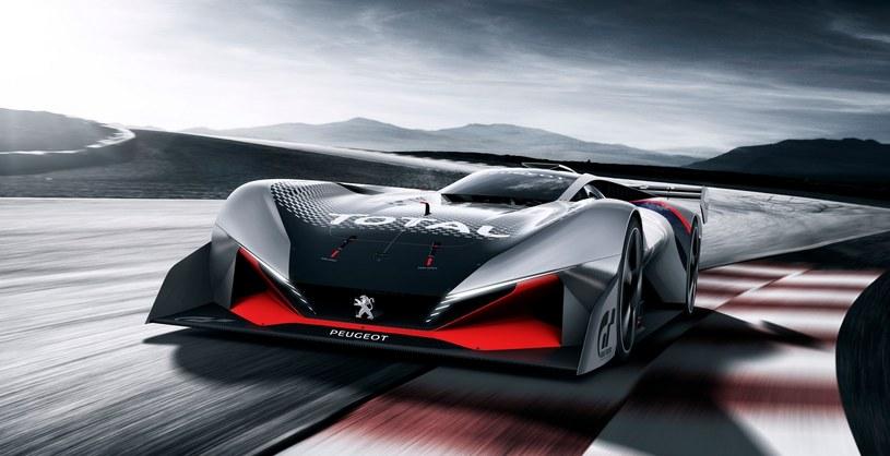 Peugeot L750 R HYbrid Vision Gran Turismo /INTERIA.PL/informacje prasowe