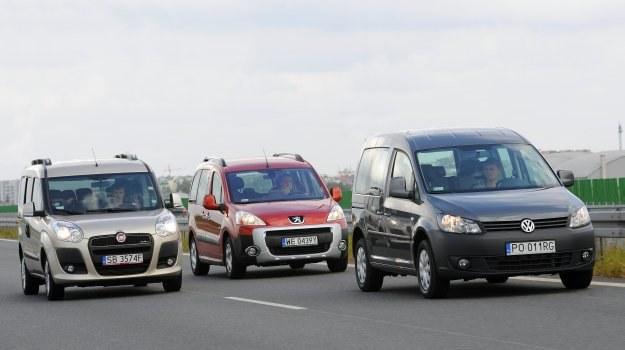 Peugeot Partner sprawia wrażenie najbardziej dopracowanego. Na ten samochód bez wstydu można zamienić każde popularne kombi. /Motor
