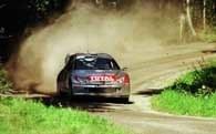 Peugeoty 206 WRC są na pierwszych trzech miejscach w Nowej Zelandii /poboczem.pl