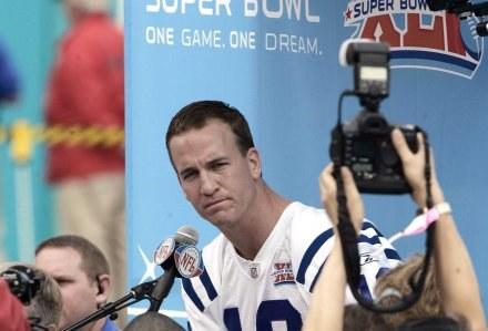 Peyton Manning - bohater Super Bowl XLI? /AFP