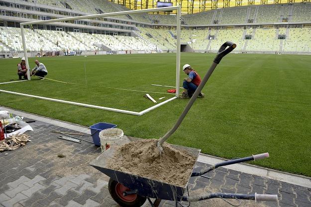 PGE Arena w Gdańsku. /PAP