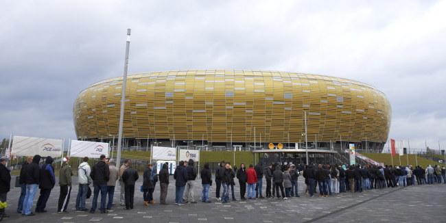 PGE Arena w Gdańsku /Adam Warżawa /PAP