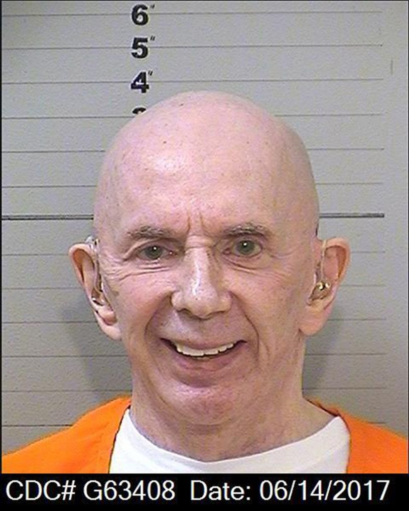 Phil Spector na fotografii więziennej /Splash News /East News