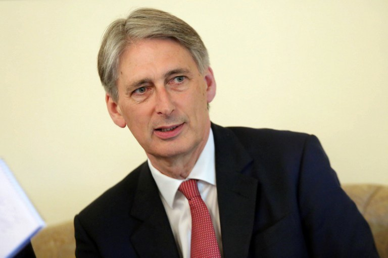 Philip Hammond /AFP