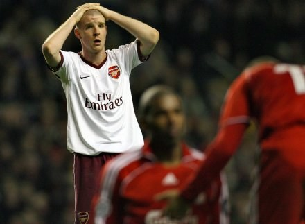 Philippe Senderos nie mógł uwierzyć, że Arsenal nie zagra w półfinale /AFP