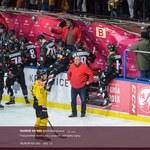 PHL. Tauron KH GKS Katowice - GKS Tychy 4-3 po karnych. Chuligan rozbił pleksi nad boksem