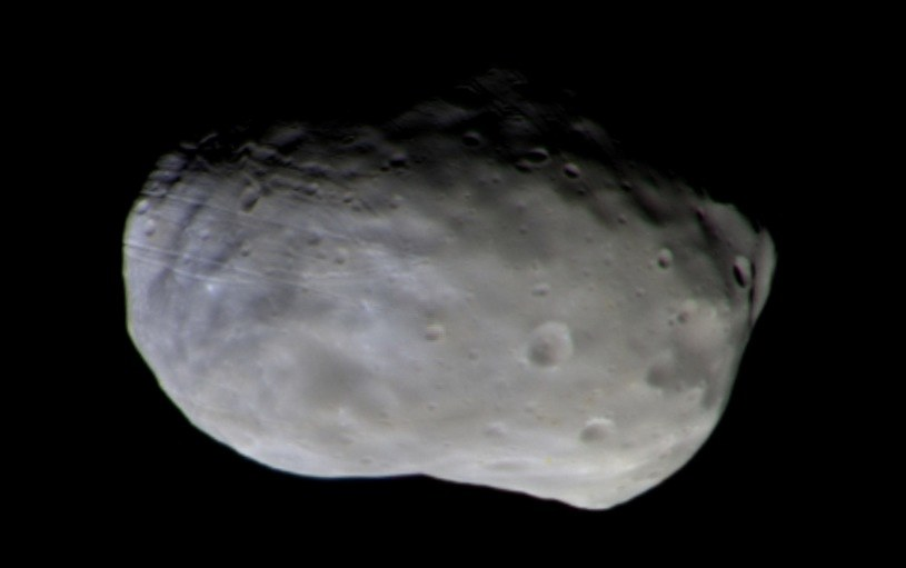 Phobos na zdjeciu wykonanym przez TGO 26 listopada 2016 roku /materiały prasowe