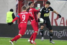 Piast Gliwice - Korona Kielce 1-0 w 18. kolejce Lotto Ekstraklasy