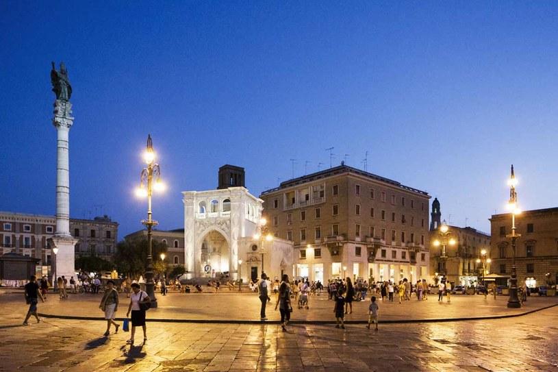 Piazza Sant'Oronzo w Lecce, fot. Giovanni Cipriano /The New York Times Syndicate