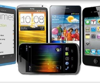 Pięć najlepszych smartfonów na świecie