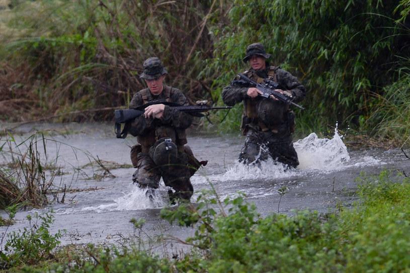 Piechota Morska podczas ćwiczeń na Filipinach /AFP